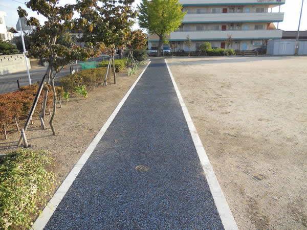 天川中央公園ジョギングコース